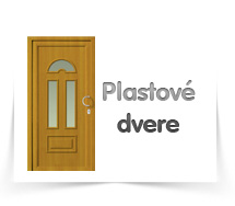 Plastové dvere